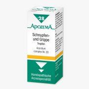 Apozema Schnupfen- und Grippe-Tropfen Nr. 28