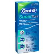 ZAHNSEIDE ORAL B SUPERFLOSS F REGULIER.