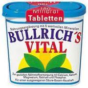 Bullrichs Vital Mineral Tabletten 180 Stk.