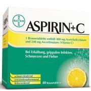 ASPIRIN +C BRAUSETABL
