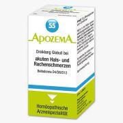 Apozema Dreiklang Globuli bei akuten Hals- und Rachenschmerzen Nr. 55 (Belladonna D4/D6/D12)