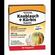 Sanvita Knoblauch+Kürbis Kapseln
