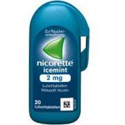 NICORETTE Icemint - Lutschtabletten 2 mg