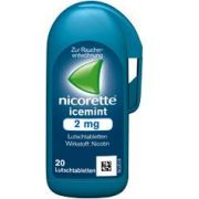 NICORETTE LUTSCHTABL ICEMINT 4MG